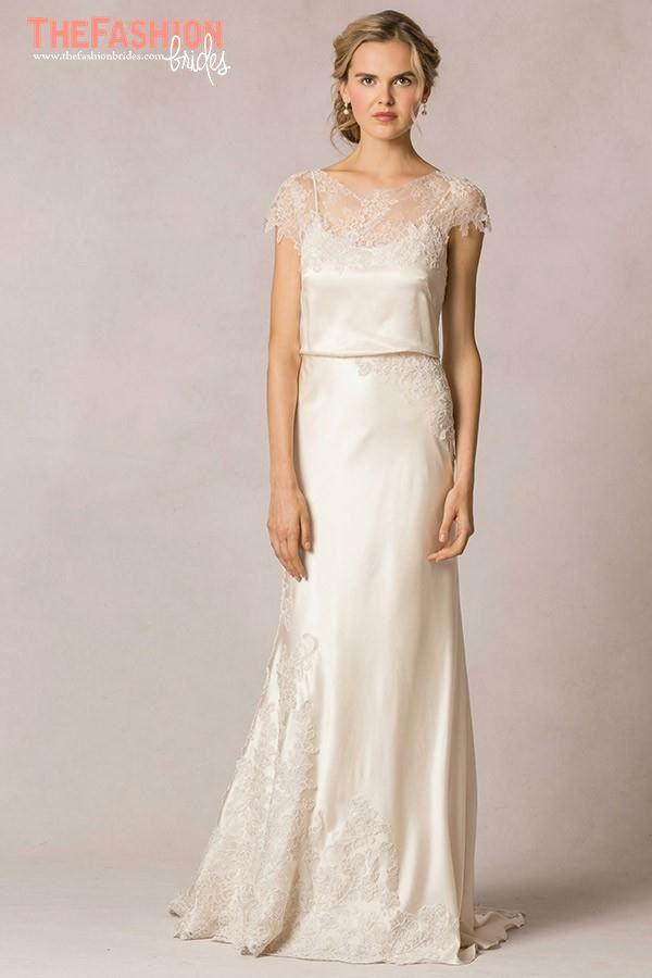 Short Sleeves Jenny Woo Wedding Dress