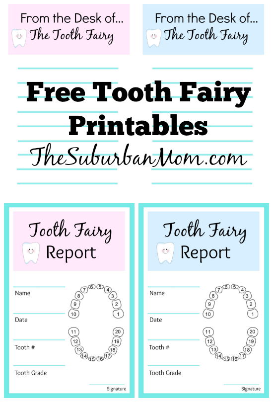 graphic about Tooth Fairy Ideas Printable called Enamel Fairy Plans And Cost-free Printables: Enamel Fairy