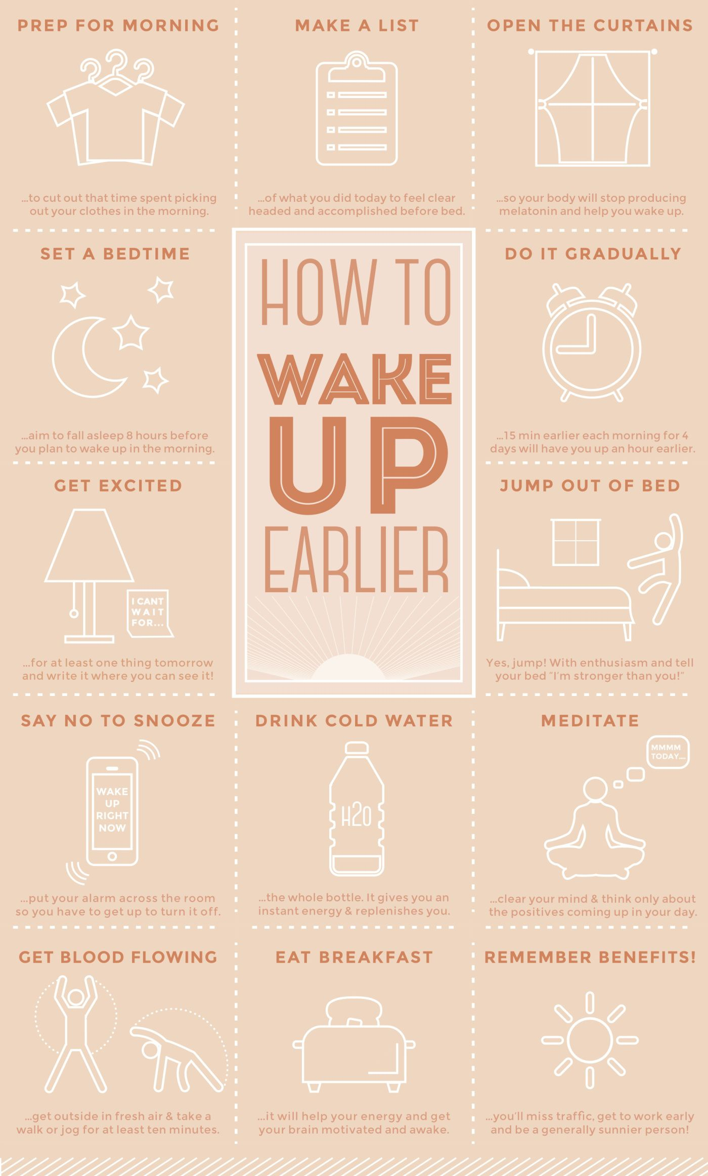 Waking up early smarter healthier more productive