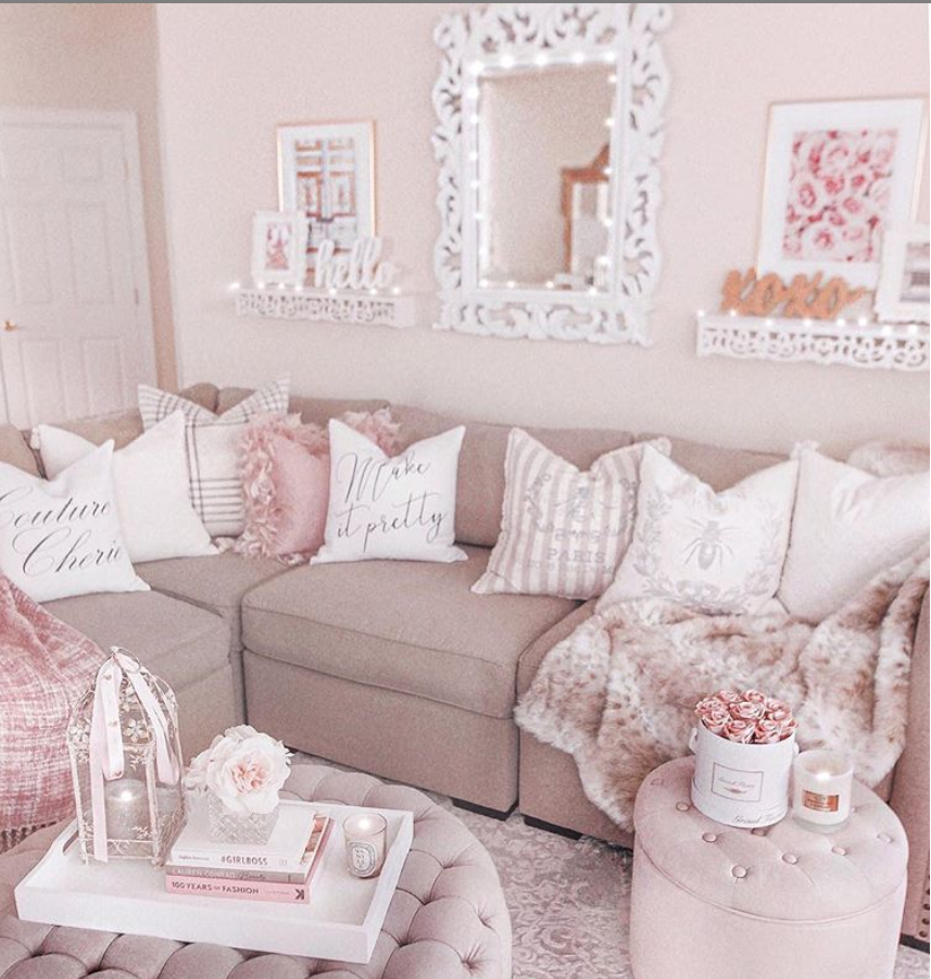 80 Adorable Millennial Pink Home Decor Ideas For My Rose Gold Dream House On A Budget Gold Home Decor Pink Home Decor Romantic Home Decor
