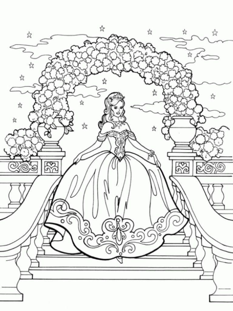 Pin By Alyssa Muncaster On Barbie Coloring Pages Princess Coloring Pages Princess Coloring Barbie Coloring Pages