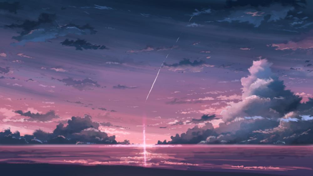 #オリジナル 海と空 - K.Hatiのイラスト - pixiv