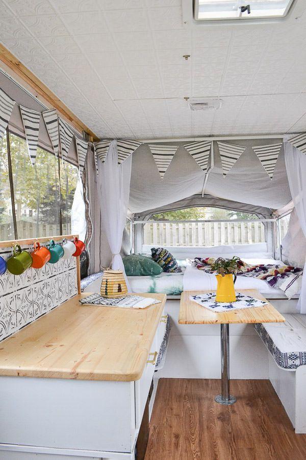 Pop Up Camper Remodel Reveal Best Of Pinterest Home