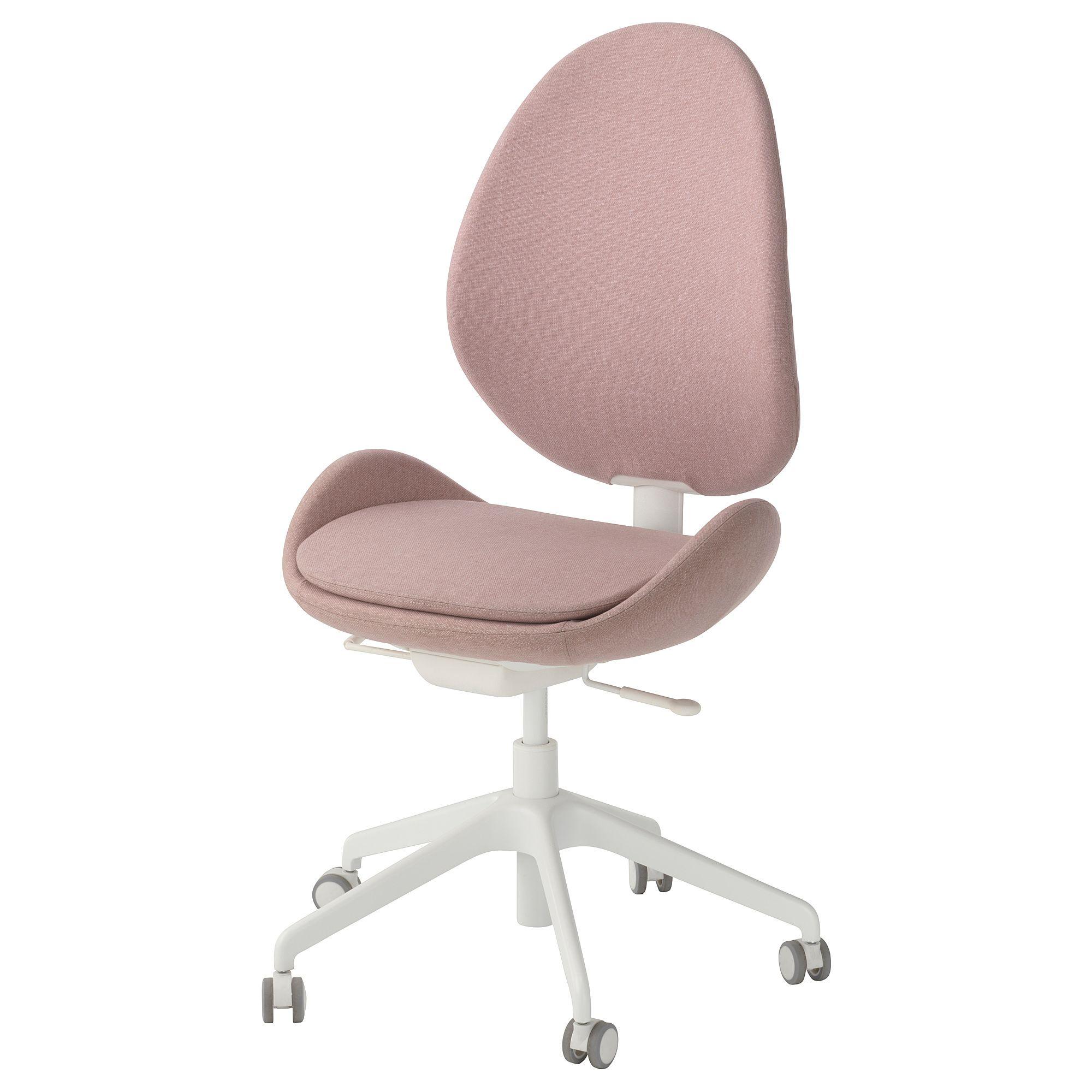 Hattefjall Office Chair Gunnared Light Brown Pink Ikea Office Chair Best Office Chair Swivel Chair
