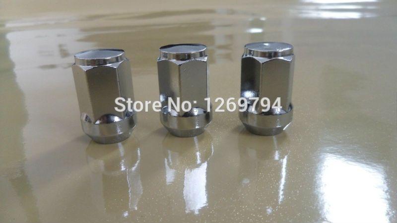 Bulge Acorn Long Wheel Lug Nuts Thread Size M12x1 5 Hex Length 3 4