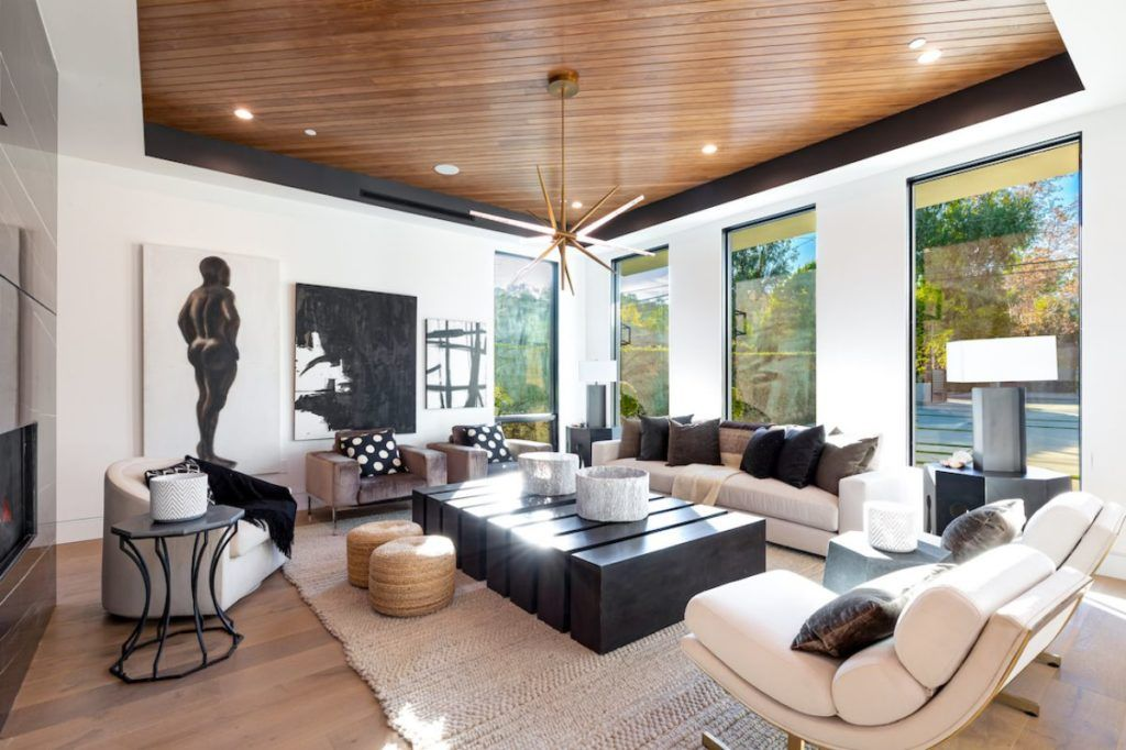 Encino Contemporary Interior Design By Meridith Baer Home In 2020