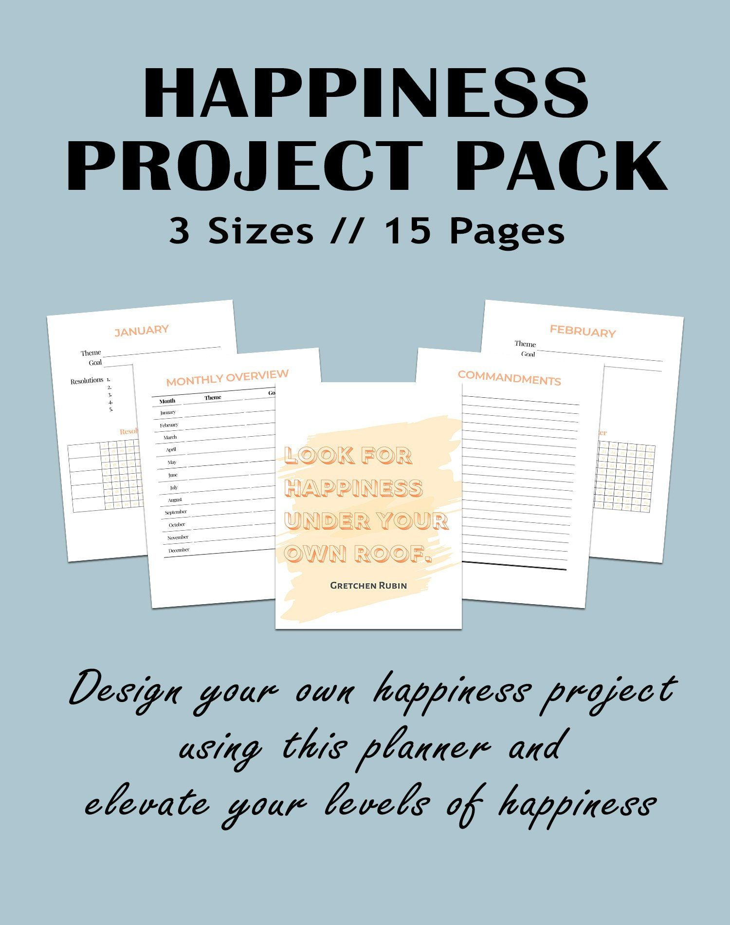 The Happiness Project Workbook