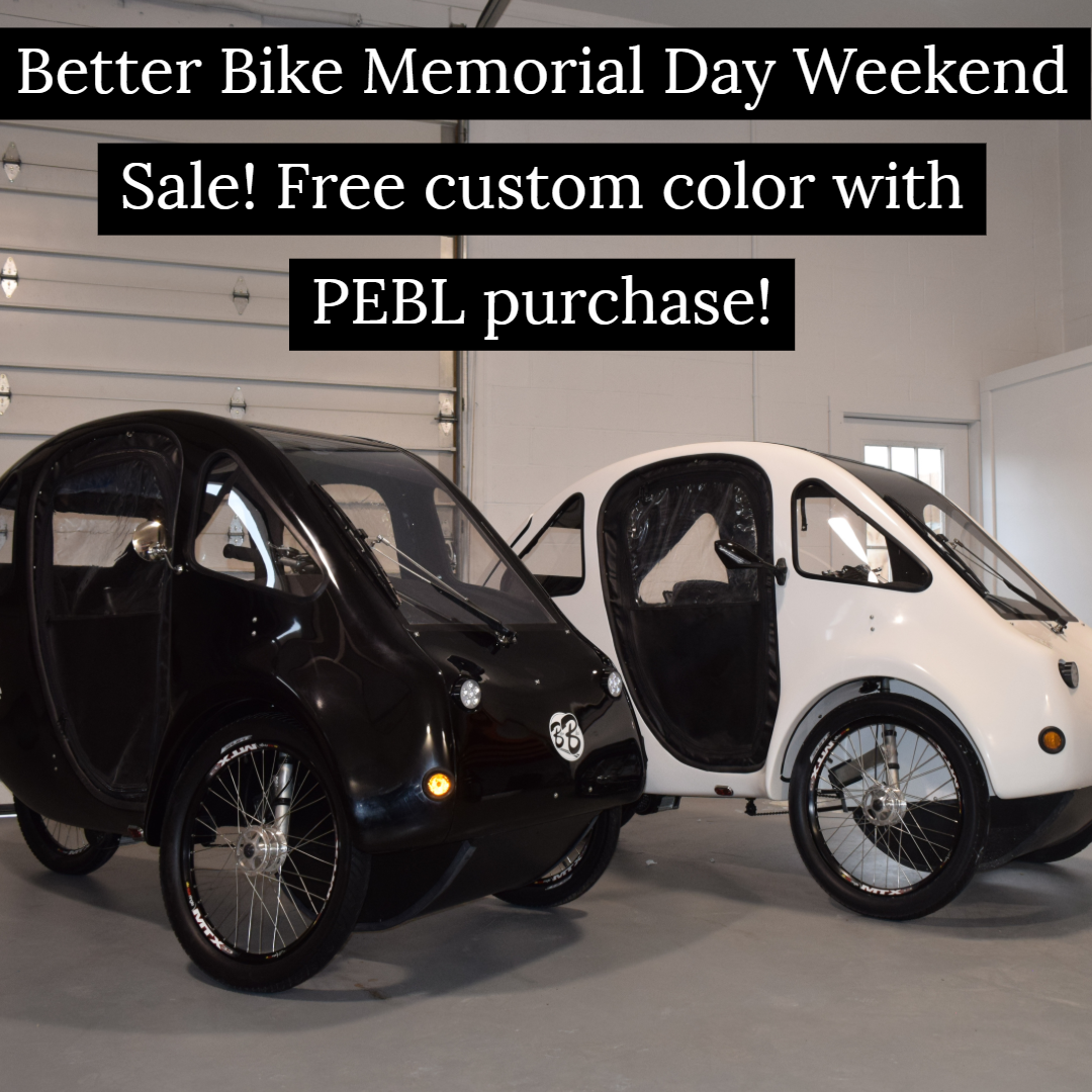 Better Bike Is Having A Memorial Day Weekend Sale Free Custom
