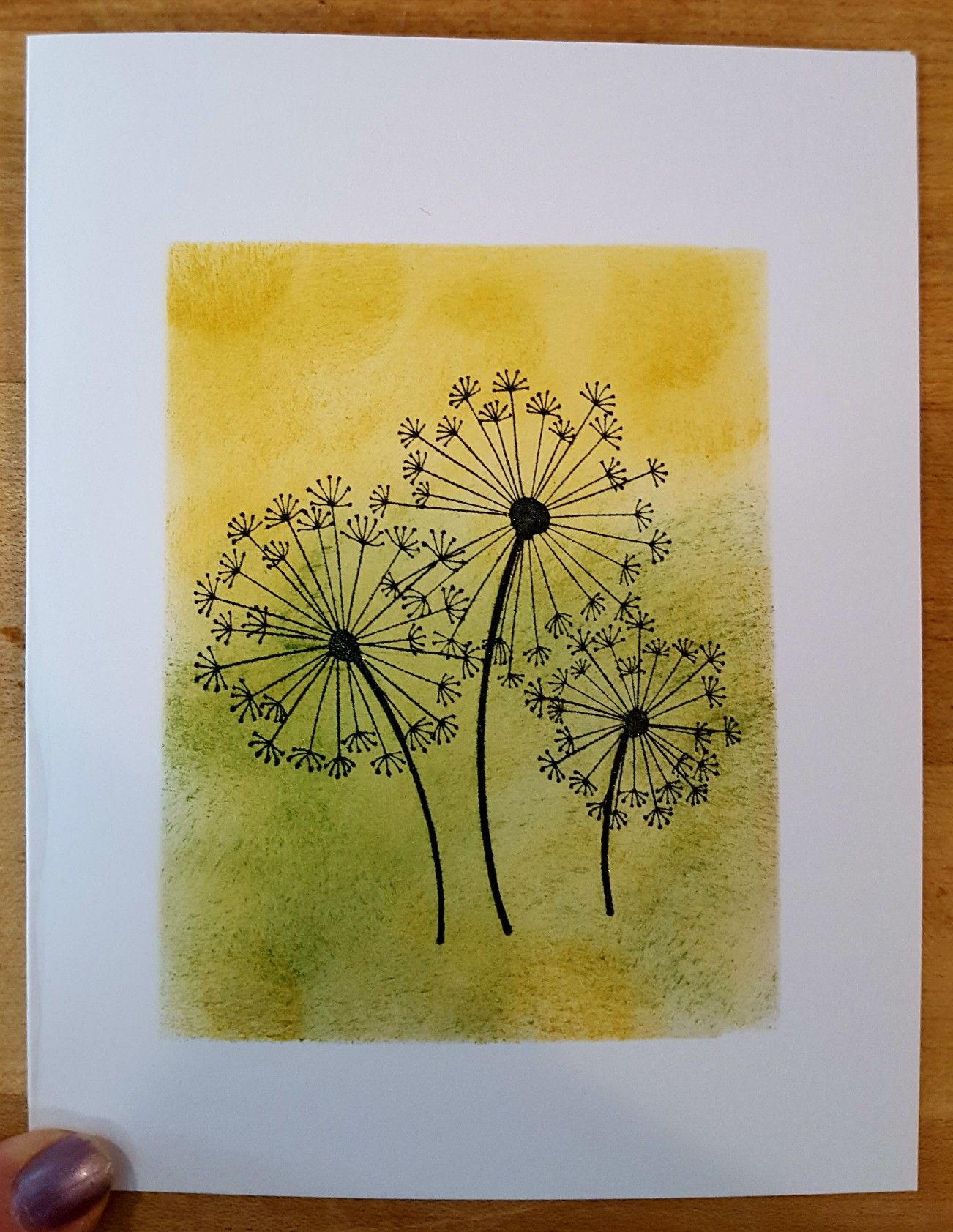 Stampin Up Dandelion Wishes Cards Handmade Homemade Cards Birthday Cards For Women