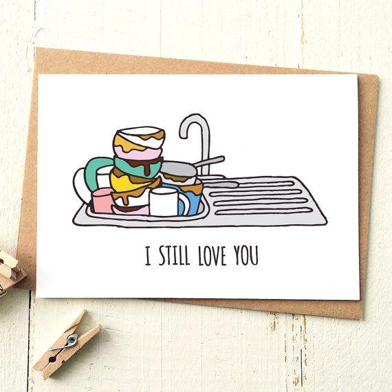 funny anniversary card love card funny boyfriend card