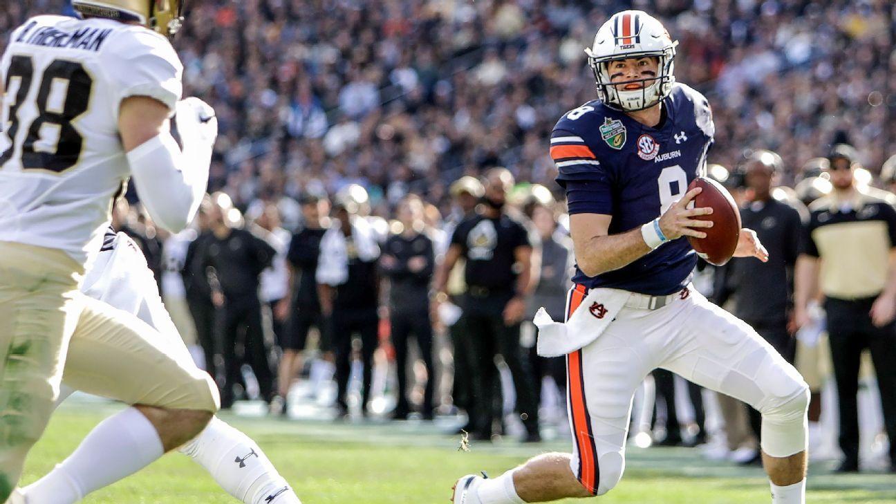 Auburn Scores 56 In First Half To Set Bowl Record Auburn Bowl Game Auburn Tigers