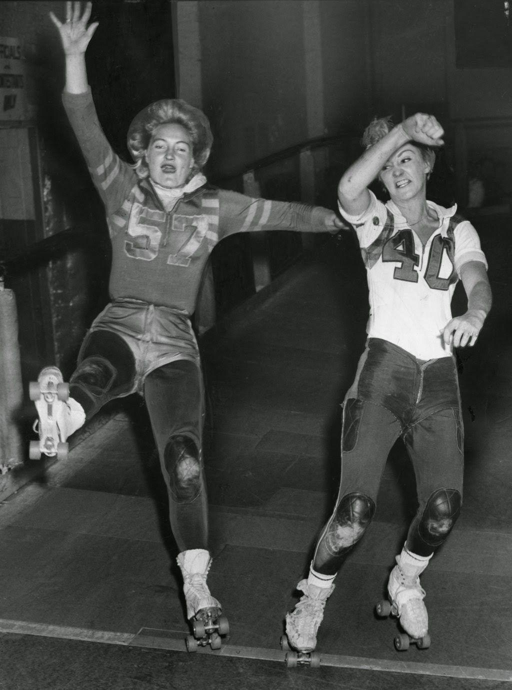 pictures Ann Calvello roller derby
