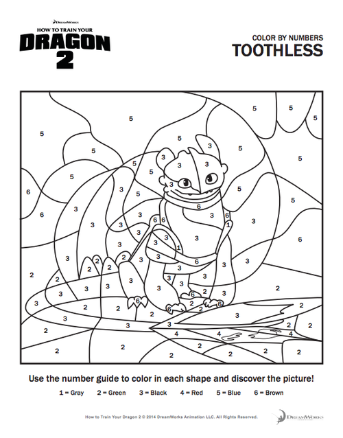 How To Train A Dragon 2 Free Coloring Pages Bltidm
