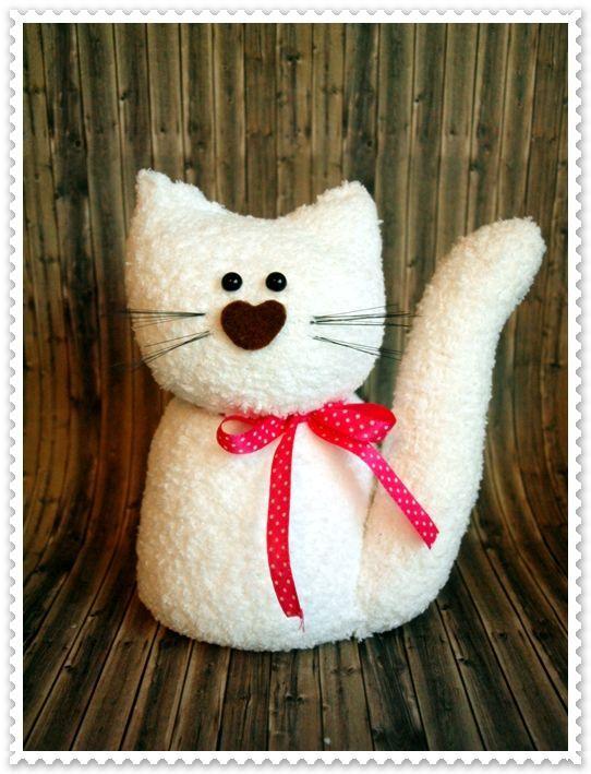 Sockenkatze - kostenlose Nähanleitung | nähen | Pinterest ...