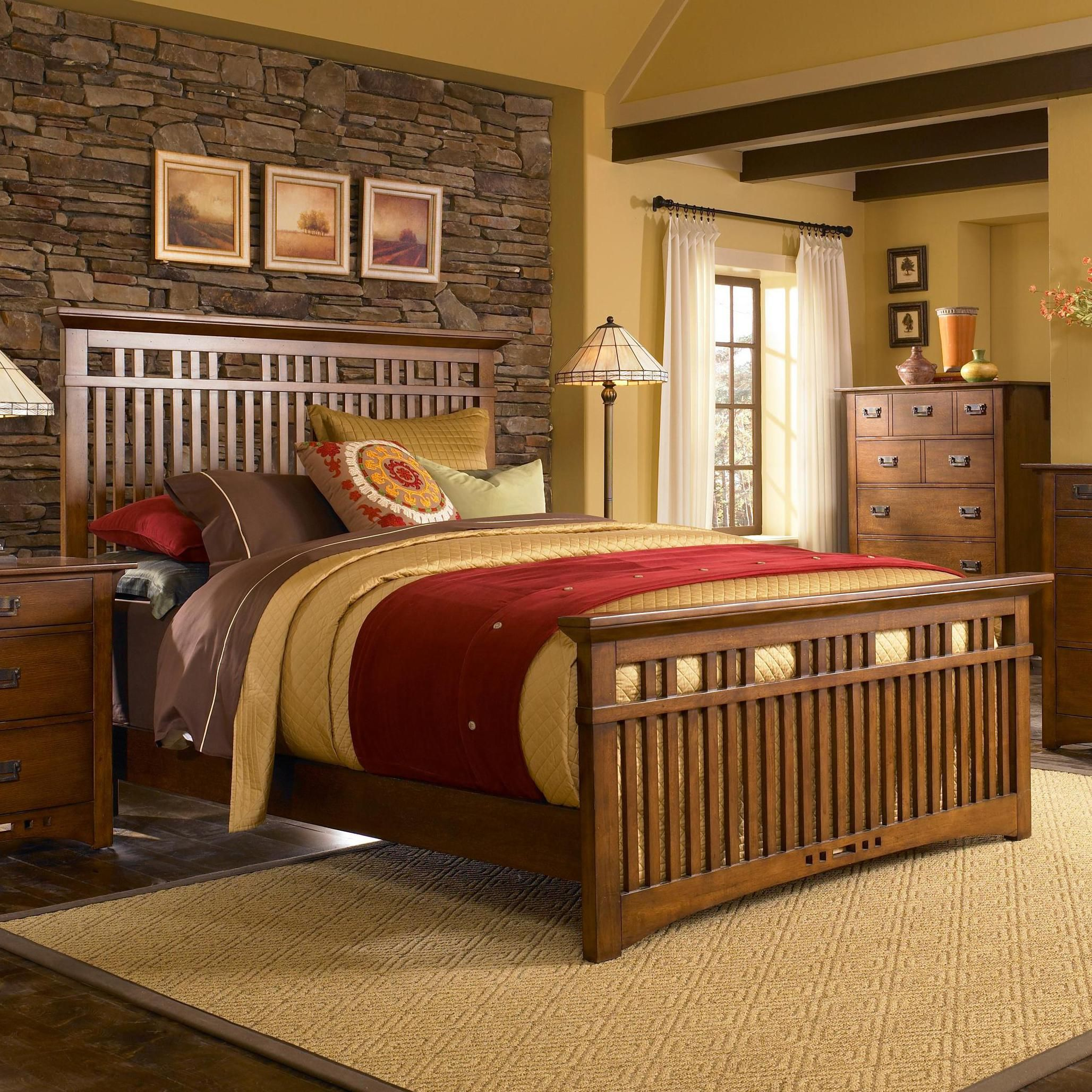 Mission Bedroom Set By Broyhill Mission Mission Style