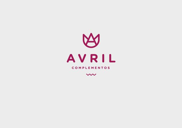 Avril Complementos - Branding by Jesso García, via Behance