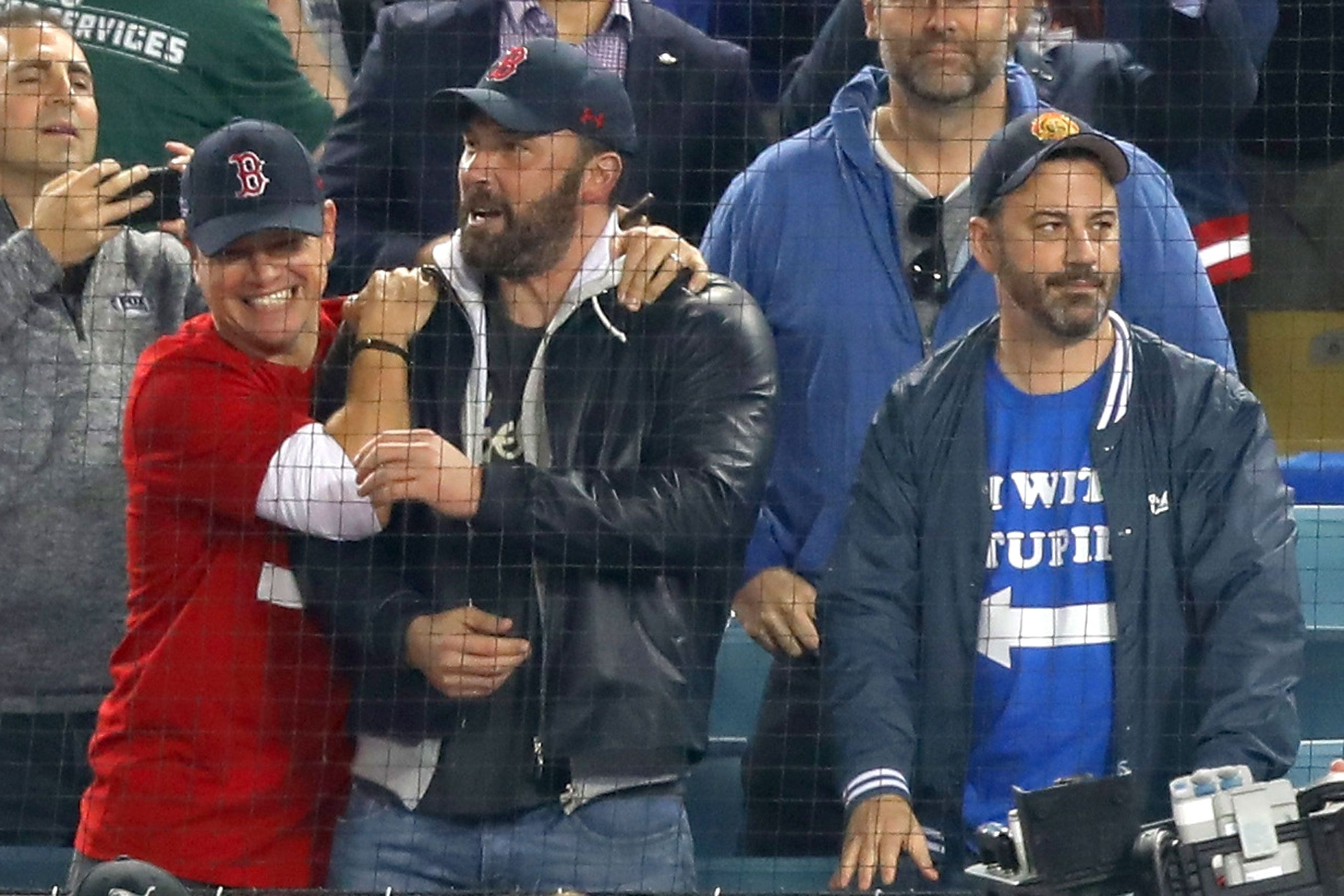 Matt Damon Ben Affleck Cheer On Boston Red Sox Day After Affleck Attends Game With Jennifer Garner Ben Affleck Matt Damon Matt Damon Ben Affleck