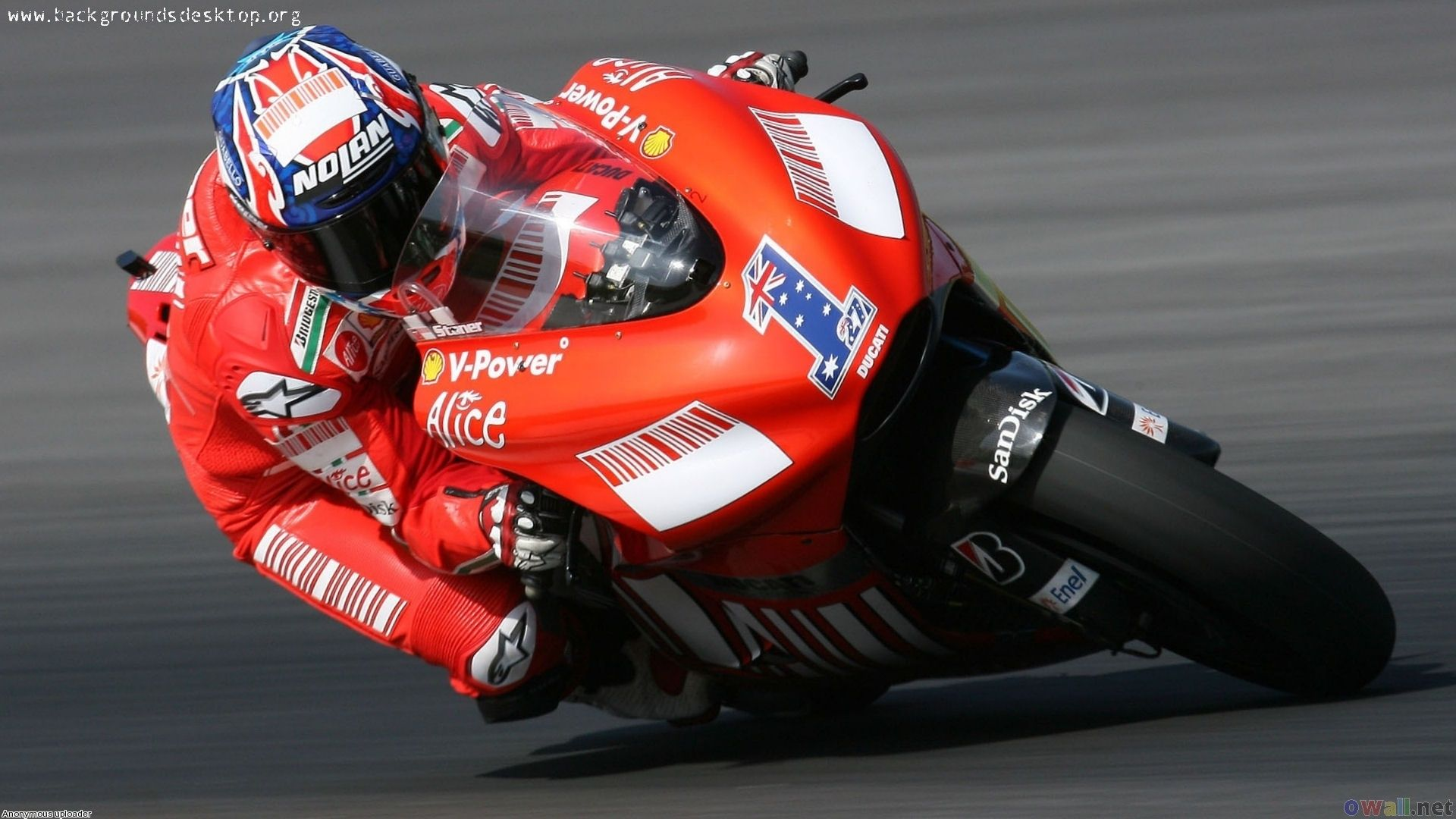 World Wallpaper Ducati Champion Motogp Casey Stoner Wallpapers
