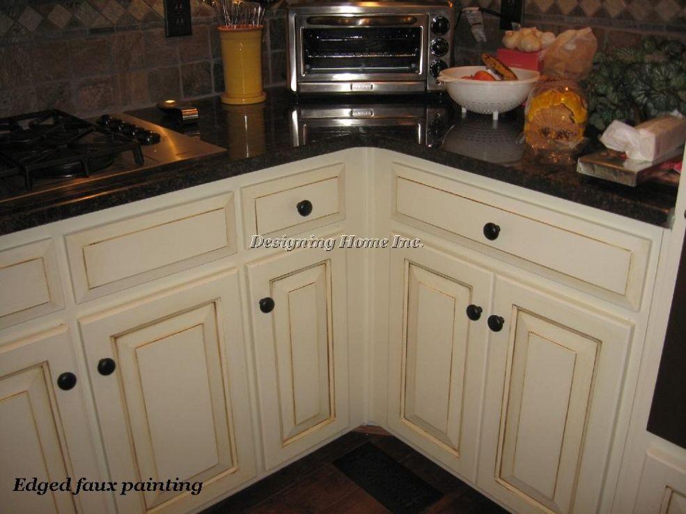 Hometalk :: Griffin Residence, Alpharetta, GA, Remodeling Kitchen, Glazed wash age…