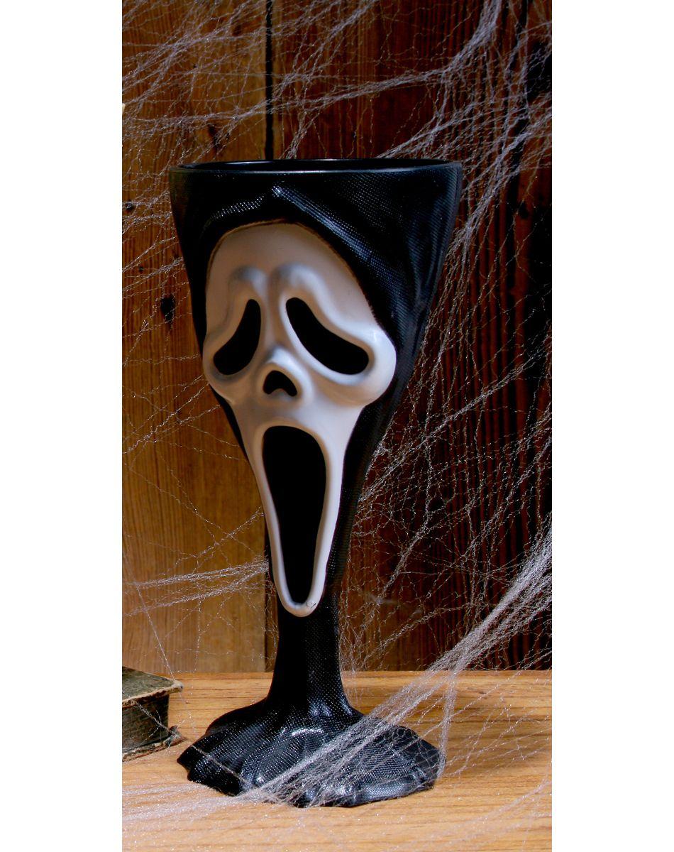 Scream Ghost Face Goblet – Spirit Halloween | Creepy Halloween ...