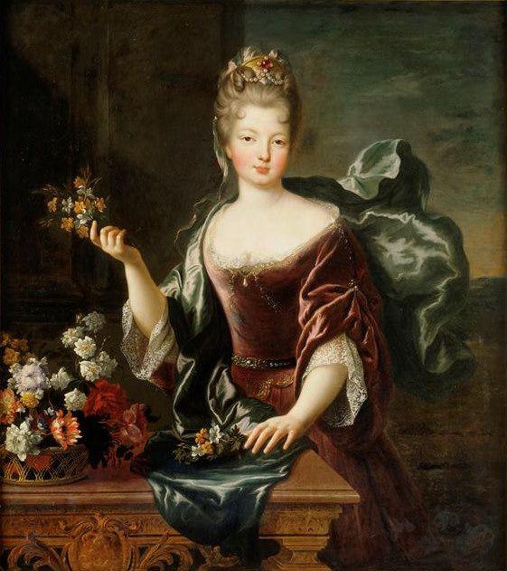François de Troy - La Seconde Mademoiselle de Bois