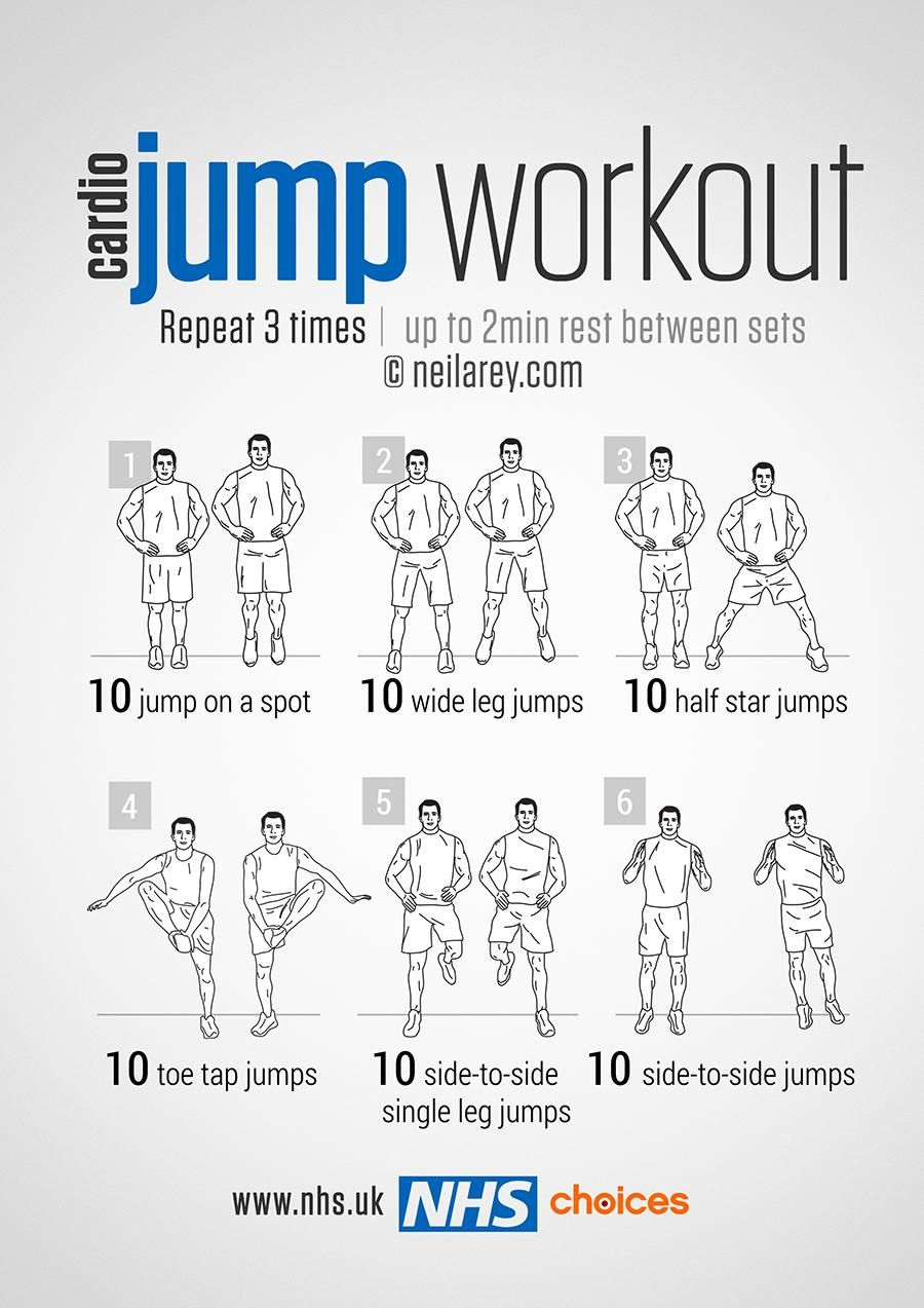 Nhs On My Fitness Jump Workout Exercise Workout