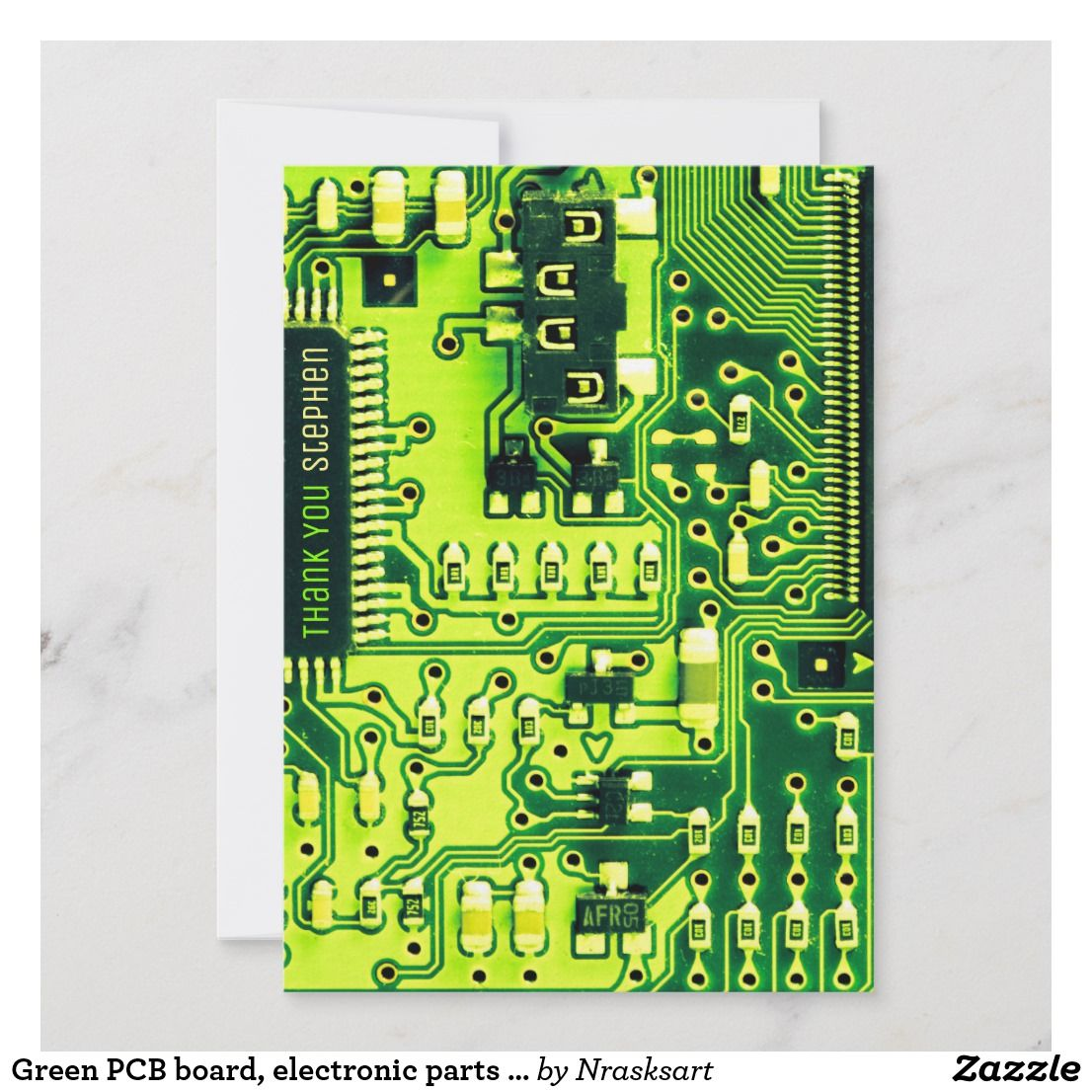 Thank You For Repairing My Computer Green Pcb Board Electronic