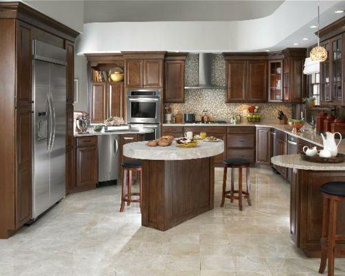 100 Küchen Designs U2013 Möbel, Arbeitsplatten Und Zahlreiche  Einrichtungslösungen   Traditionell Küche Dunkel
