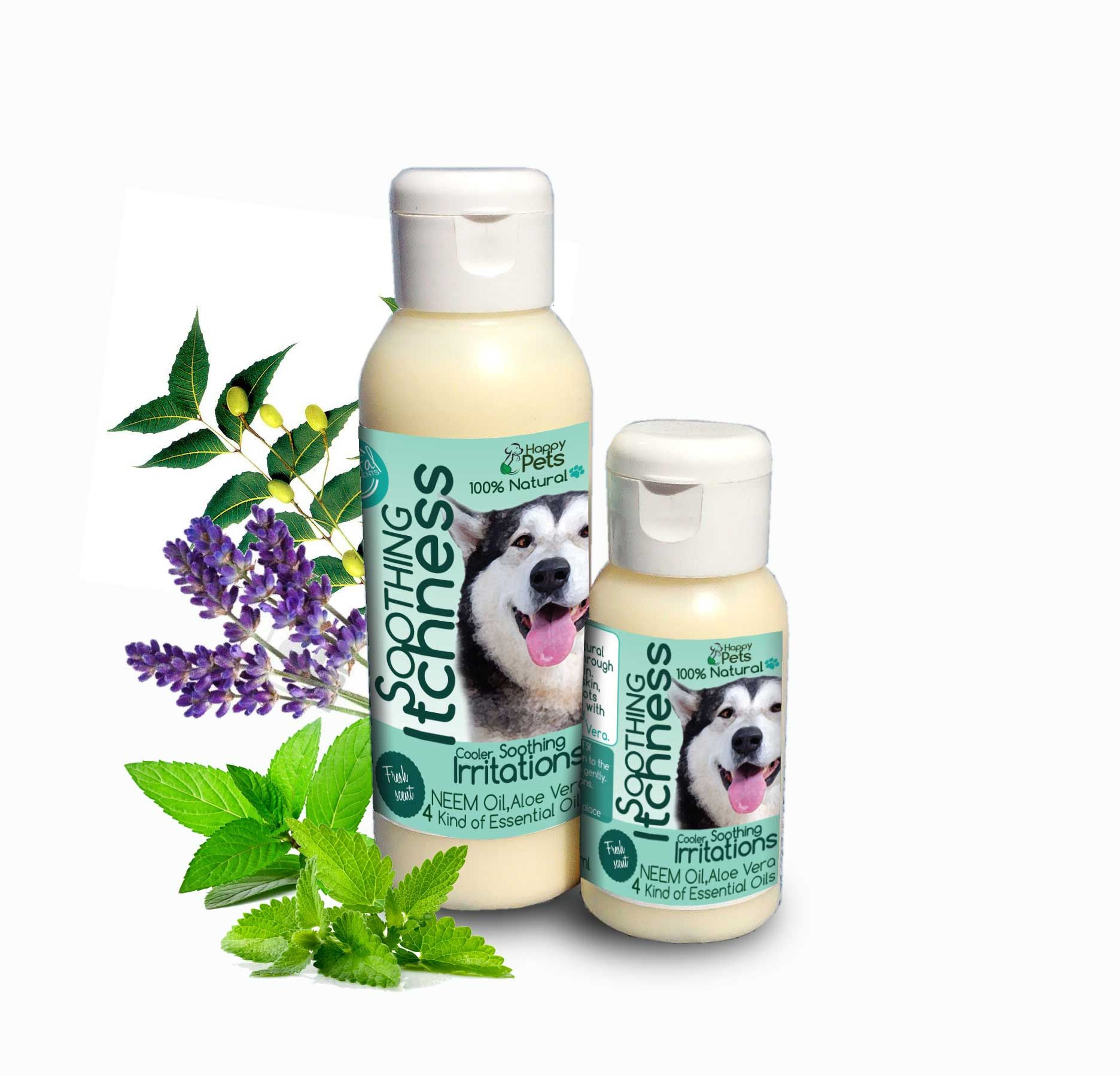 Itch Relief Body Spray Coconut oil for dogs, Coconut oil