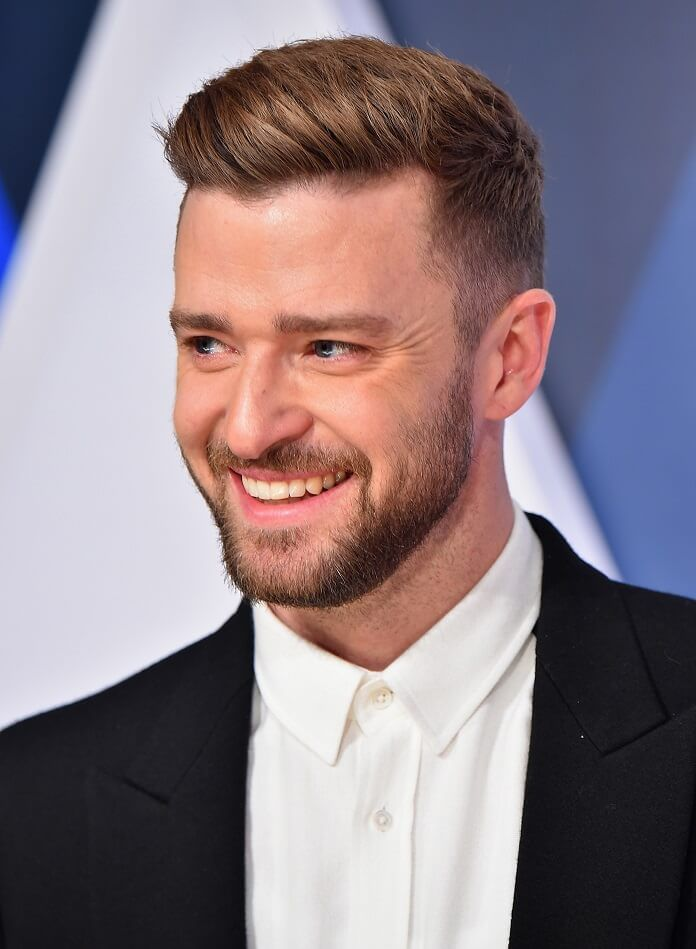 Justin Timberlake Executive Produces Spin The Wheel Hosted By Dax Shepard Haircuts For Men Crazy Hair Boys Summer Haircuts