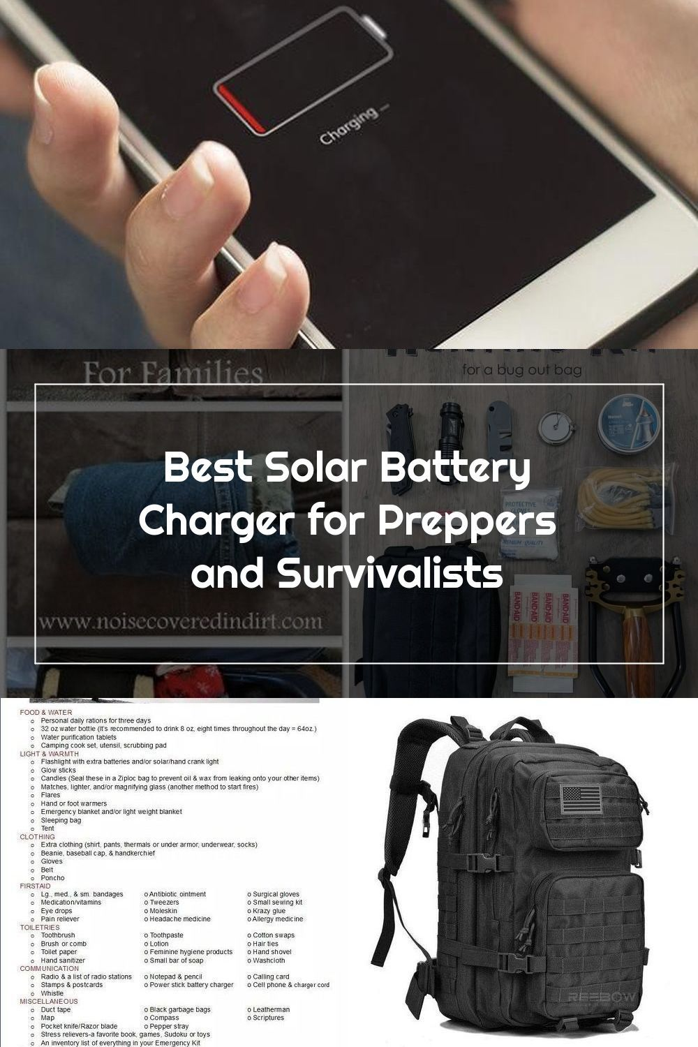 A Good Solar Power Source For Any Shtf Situation And Bug Out Bag Check Out Our Pick For The Best Solar Ba In 2020 Solar Battery Charger Solar Power Source Solar Power