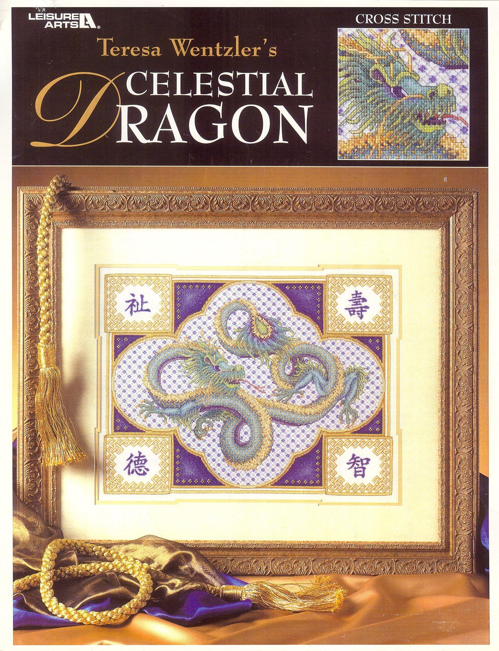 Celestial Dragon | Point de croix, Croix