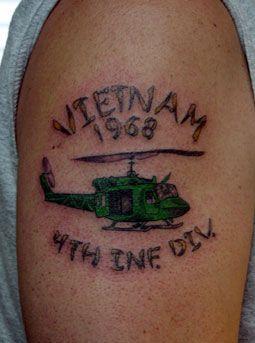 Tattoos From Vietnam War Vietnam Vets Vietnam Tattoo Vietnam
