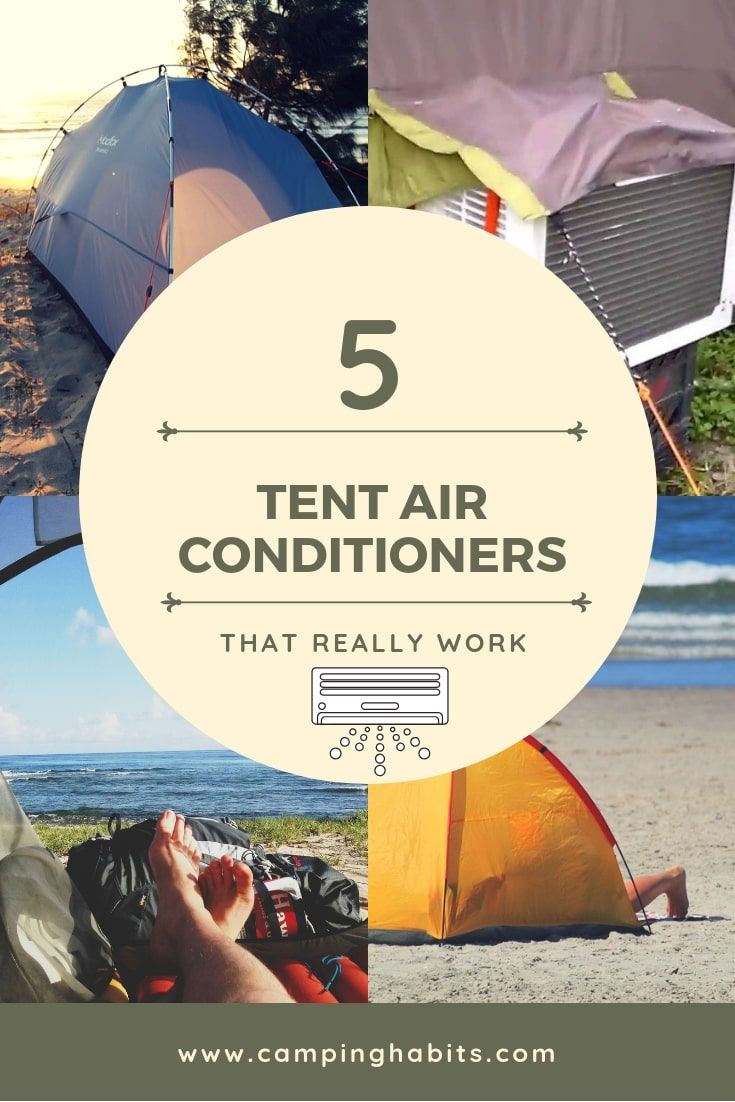 Tent Air Conditioners Which One Works for Camping? Tent