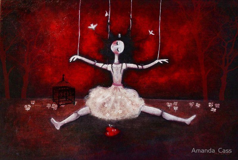 """Broken doll"" by Amanda Cass | Redbubble"