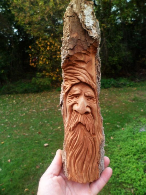 Wood spirit diy pinterest woods carving and