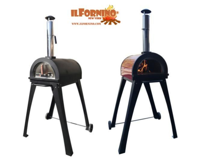 For All Pizza Lovers Ilfornino Comes With The Best And Reliable Series Of Stylish Piccolino Wood Fired Stainless Steel Oven Wood Fired Oven Wood Burning Oven