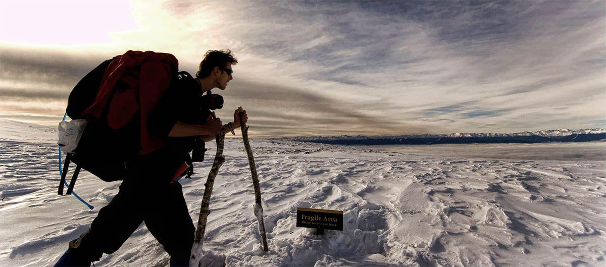 Winter Tramping from jonathanphotos.com #JonathanPaulson