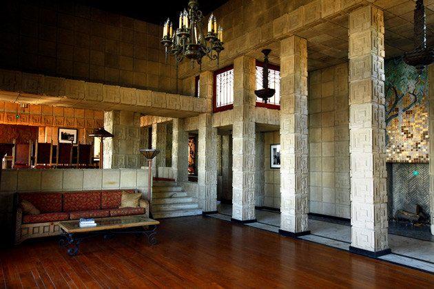 Landmark Houses Ennis House Ennis House Frank Lloyd Wright