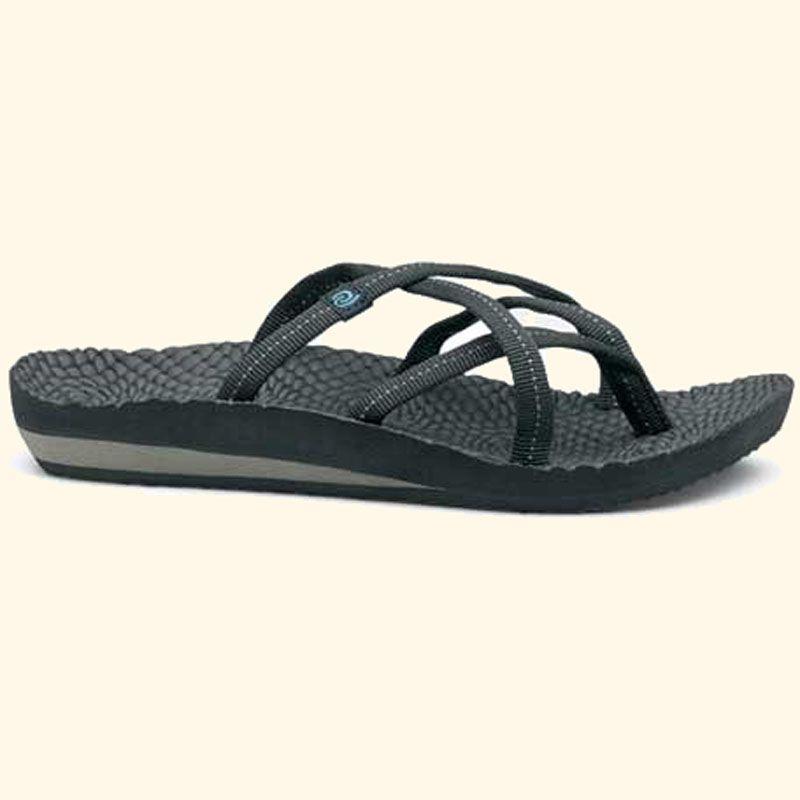 77058114788 Rafters Antigua Slide Black 70225R-001 (Women s) Rafters Sandals