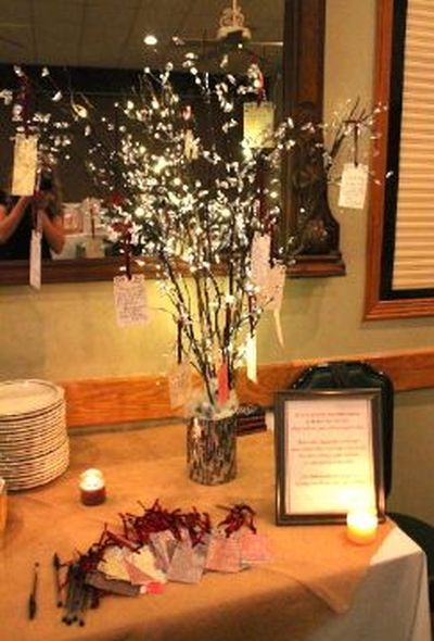 pretty idea for a bridal shower gift card tree see more bridal shower gift ideas at wwwone stop party ideascom