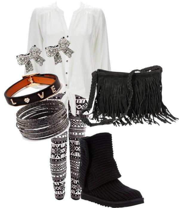 """tribal leggings 3"" by azalia101 on Polyvore"