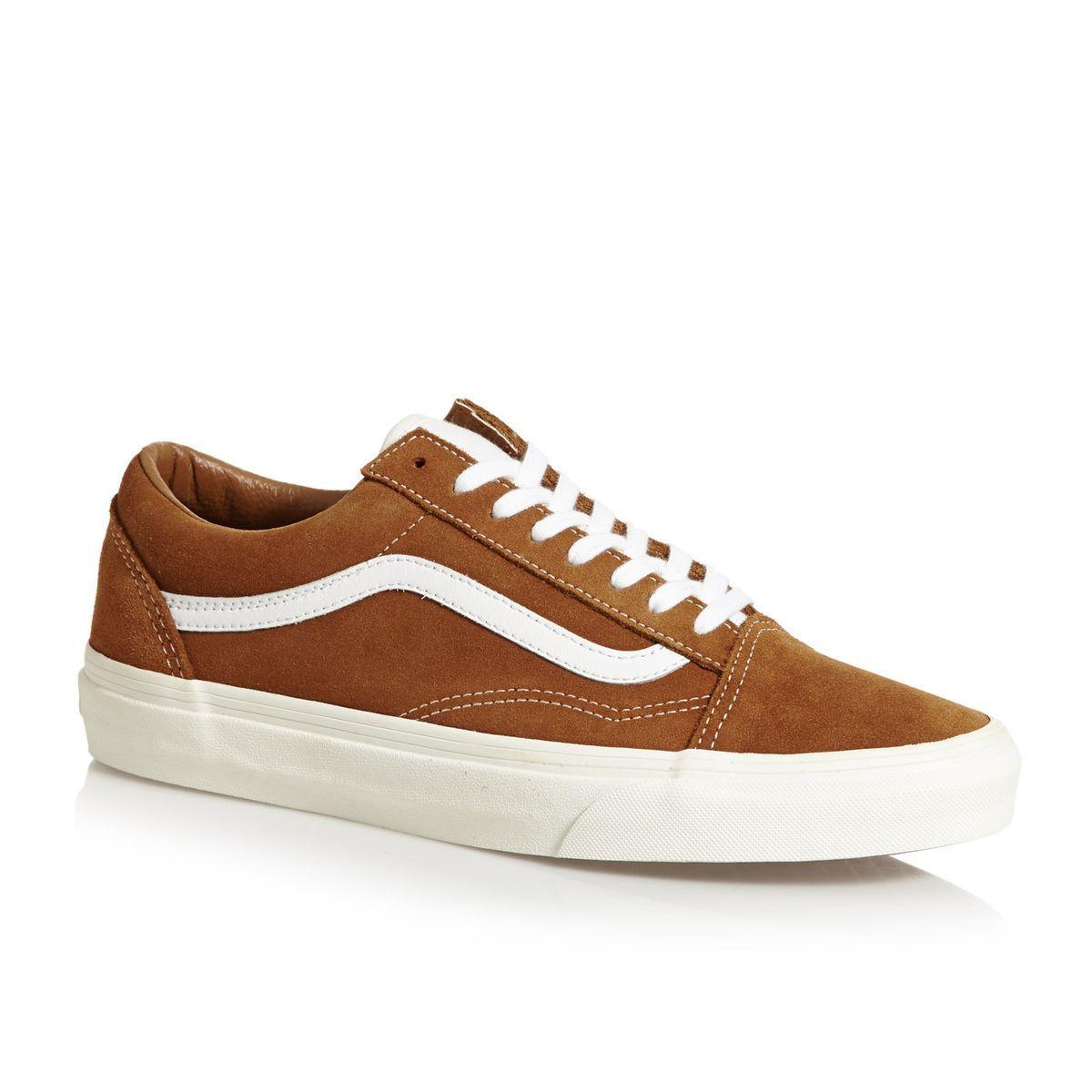 2de5174a58b Vans UA Old Skool Skate Shoes - Retro Sport Glazed Ginger