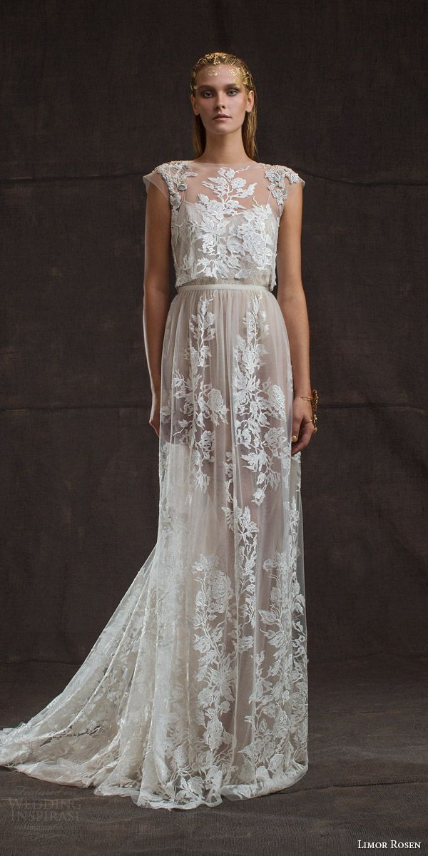 24 Best Wedding Dresses with Cap Sleeves | Lace applique, Wedding ...