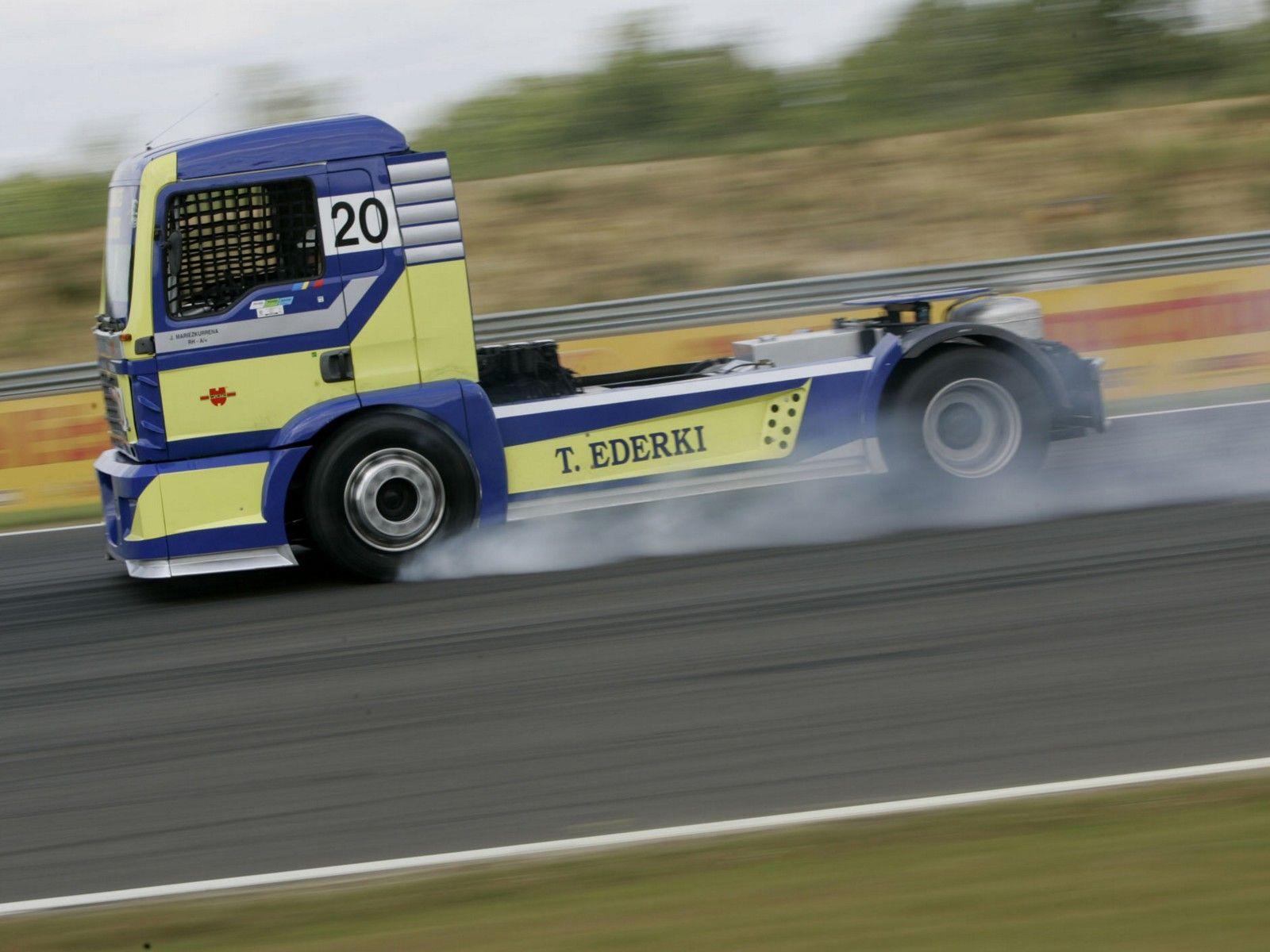 Semi truck racing 2006 man tg semi tractor truck trucks race racing wallpaper background