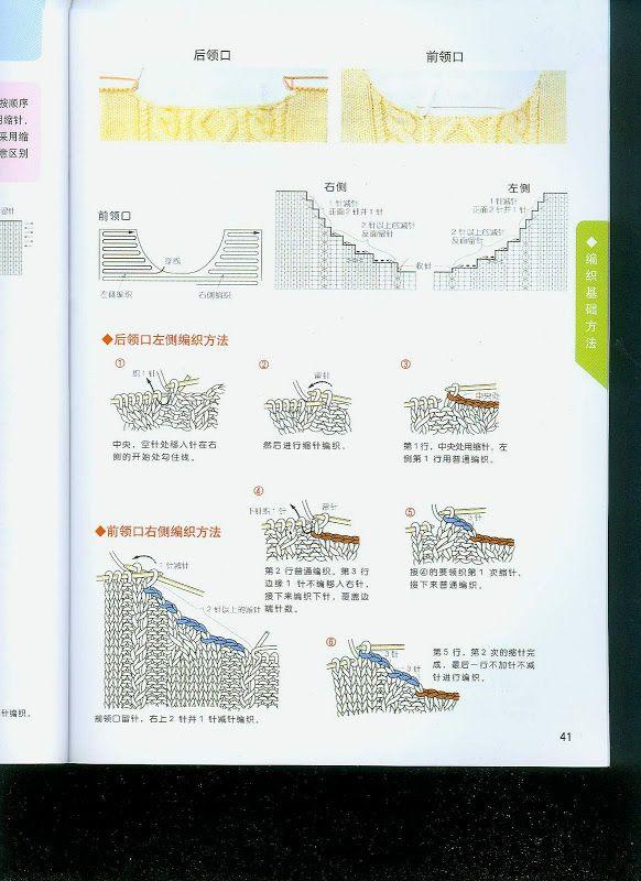 Китайский учебник по вязанию(спицы) - Marina3 - Веб-альбомы Picasa