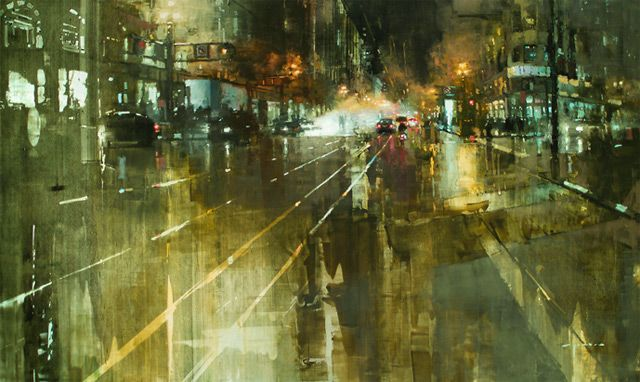 Des peintures de paysages urbaines peinture ville 05 peinture 2 bonus art