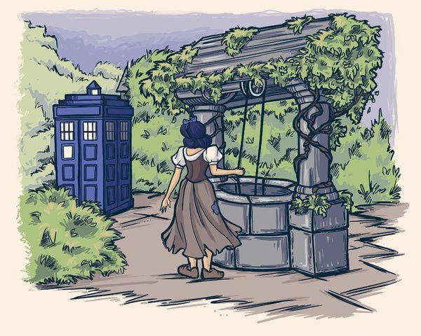 I'm Wishing Art Print by Karen Hallion Illustrations