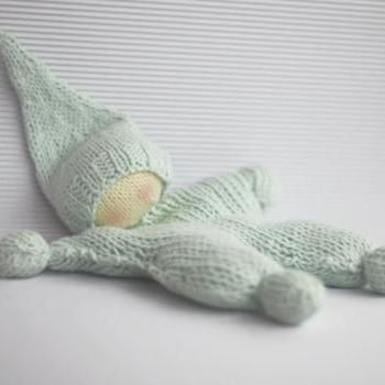 Waldorf knitted doll for small babies - pdf knitting pattern ...