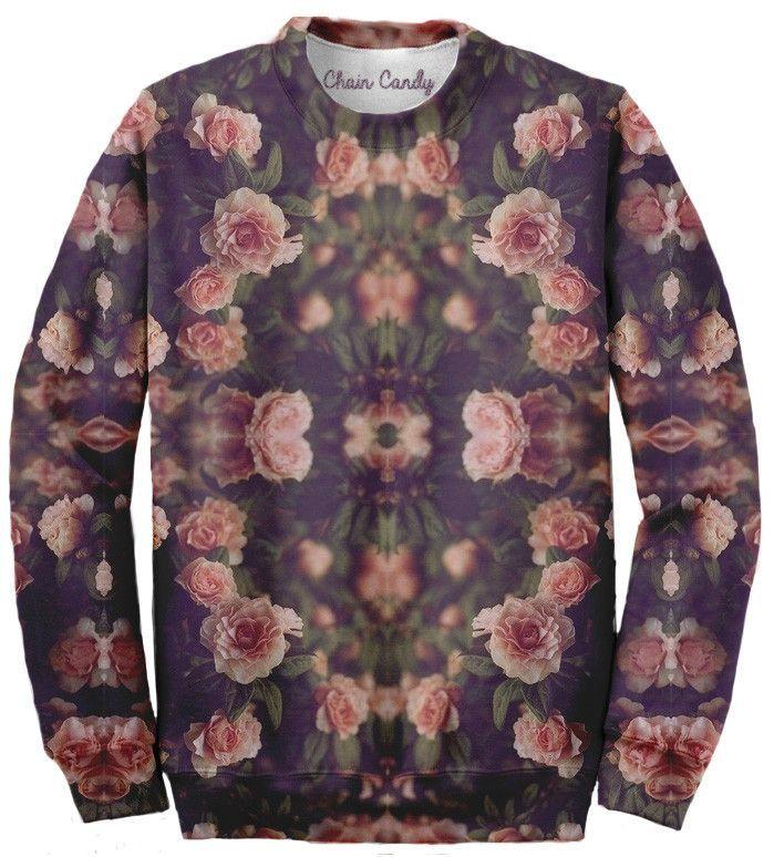 Floral Allover print Sweatshirt